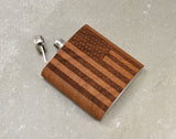 American Flag Flask - Queen Bunnybee's Gifts