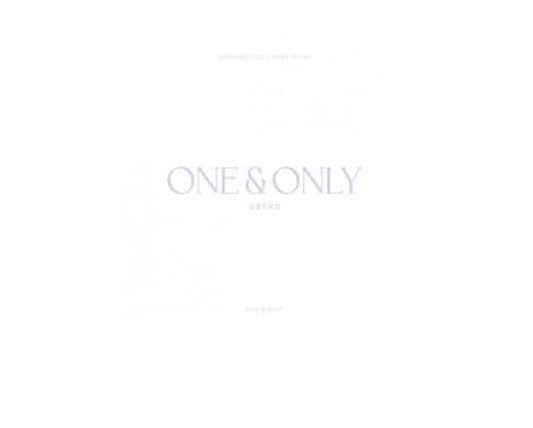 ASTRO Debut 4th Anniversary Album - ONE & ONLY CD + Poster