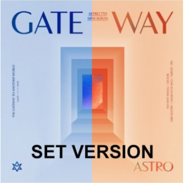 [SET] ASTRO 7th Mini Album-GATEWAY(SET Ver。)2CD + 2Poster