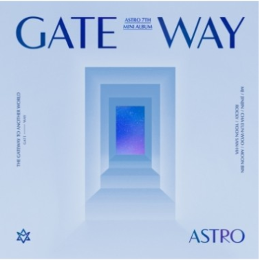 ASTRO 7th Mini Album - GATEWAY (ANOTHER WORLD Ver.) CD + Poster