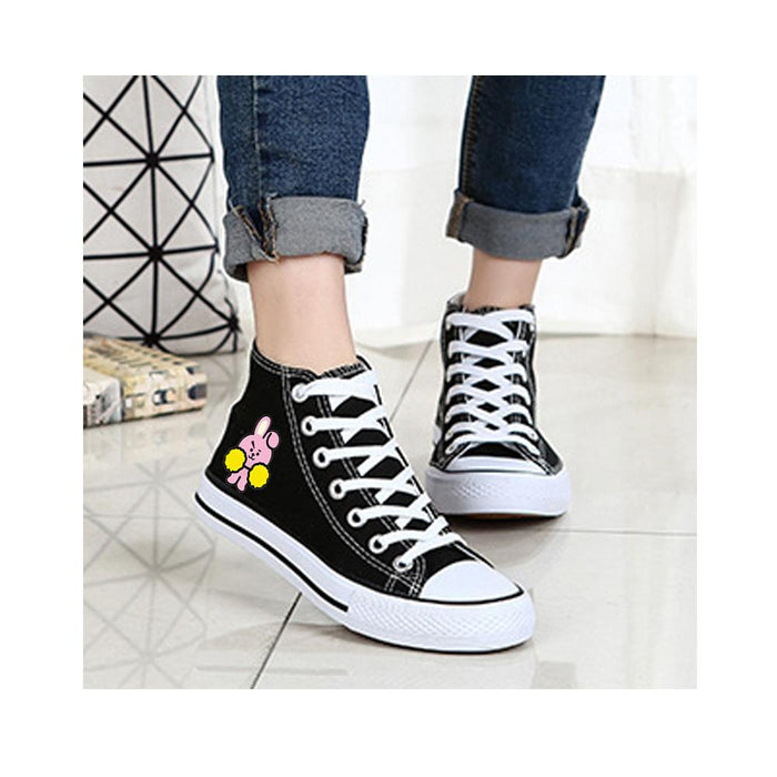BT21 Merchandise By Line Friends - Funny BT 21 Converse