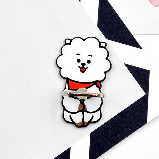 BT21 Official Merchandise by Line Friends - RJ Smile Cell Phone Stand Ring Holder