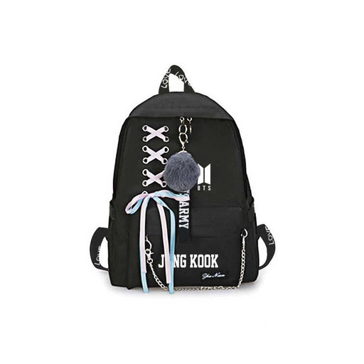 BTS Merch - Bangtan Boys Jungkook Backpacks For School