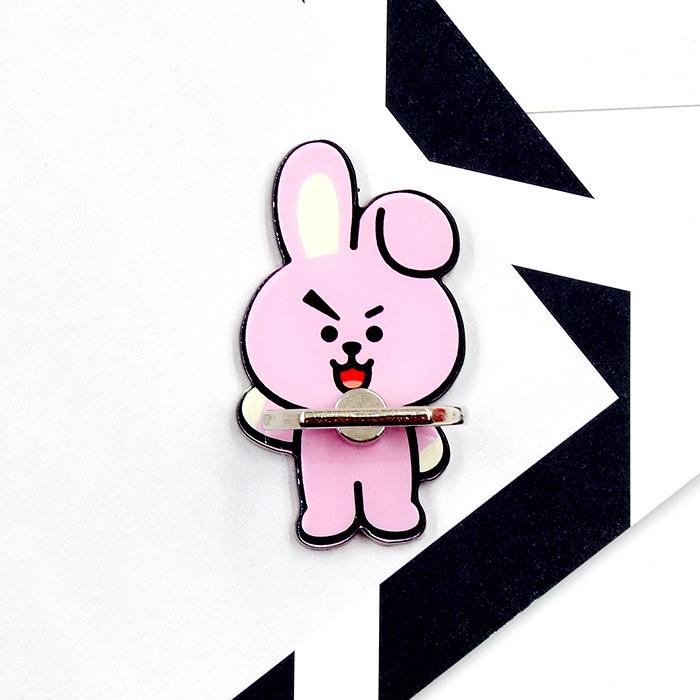 BT21 Official Merchandise by Line Friends - Cooky Cell Phone Stand Ring Holder