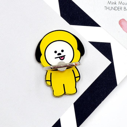 BT21 Official Merchandise by Line Friends - Chimmy Cell Phone Stand Ring Holder