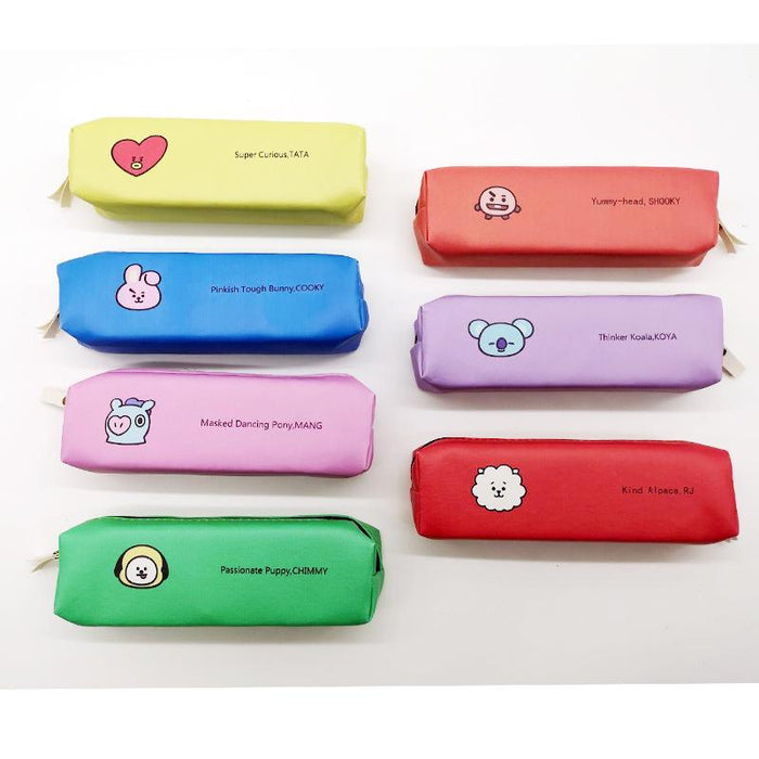 BT21 Official Merchandise  -BT21 Funny Pencil Case