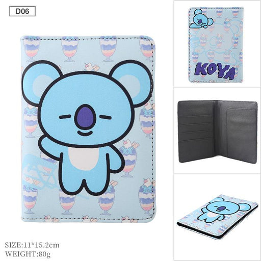 BT21 Merch  - BT21 Love Yourself Travel Passport Case