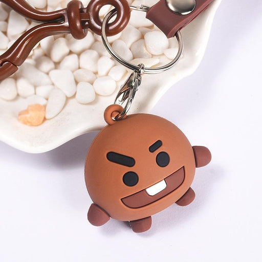 BT21 Official Merchandise  -Shooky Keychain Ring