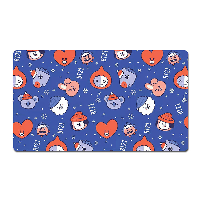 BT21 Merch - BT21 Keyboard Desk Cover