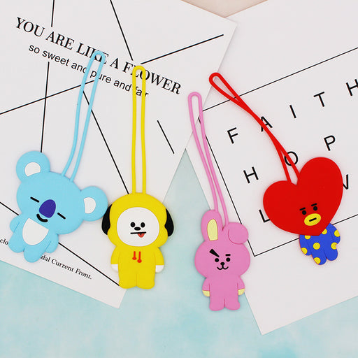 BT21 Merch- Luggage Badge