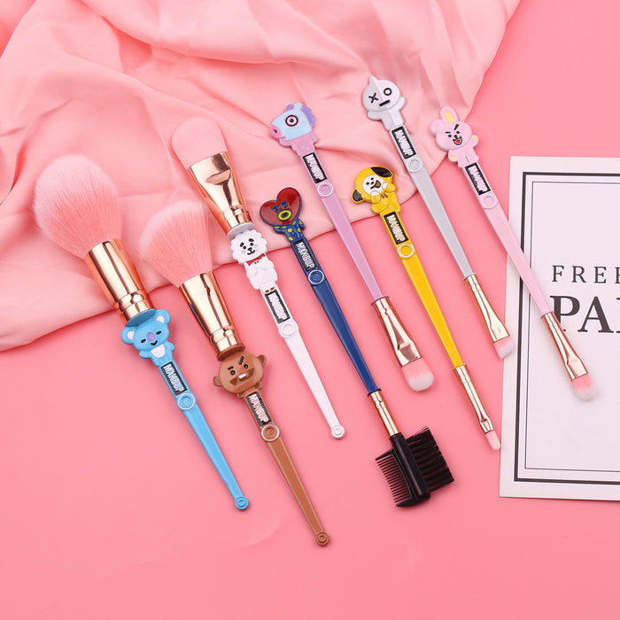 BT21 Merch- Makeup Brush Set