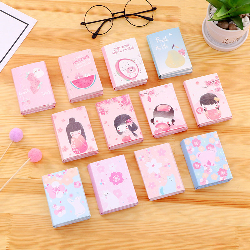 Korean Kawaii Girl Sticky Notes