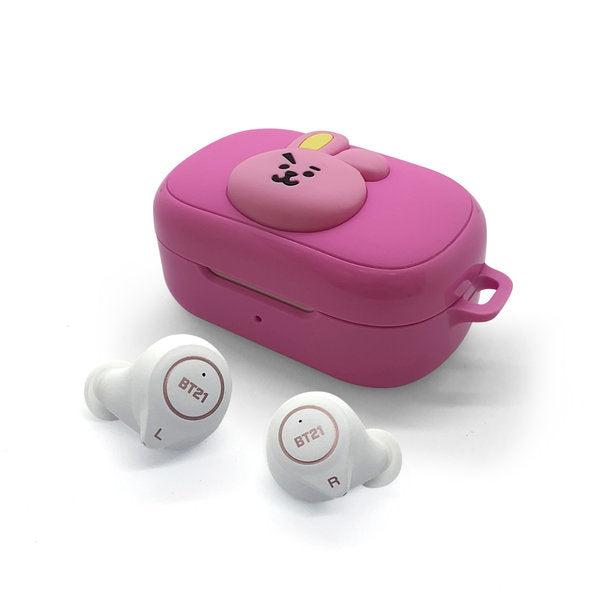 [BT21] BT21 Genuine TWS Bluetooth Wireless Earphone Cookie