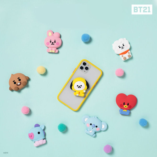 [BT21] Baby Bubbley Poptalk Grip Cell Phone Holder Cookie (COOKY)