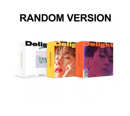 [KiT] Baekhyun 2nd Mini Album - DELIGHT (Random Ver.) Air-KiT + Poster