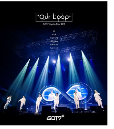 "[Japanese Edition] GOT7 Japan Tour 2019 ""Our Loop"" DVD"