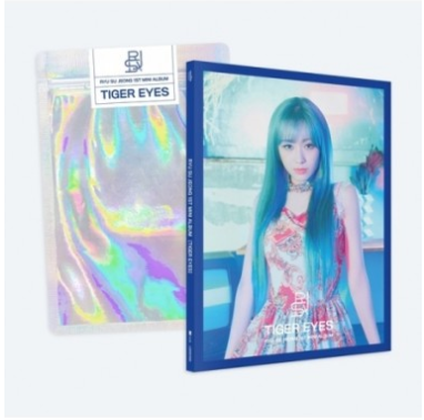 Ryu Su Jeong 1st Mini Album - TIGER EYES CD + Poster
