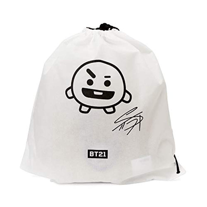 BT21 Official Merchandise by Line Friends - SHOOKY Smile Decorative Throw Pillows Cushion, 11 Inch
