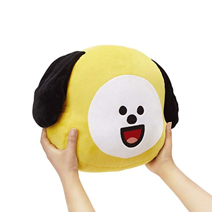 BT21 Official Merchandise by Line Friends - CHIMMY Smile Decorative Throw Pillows Cushion, 11 Inch