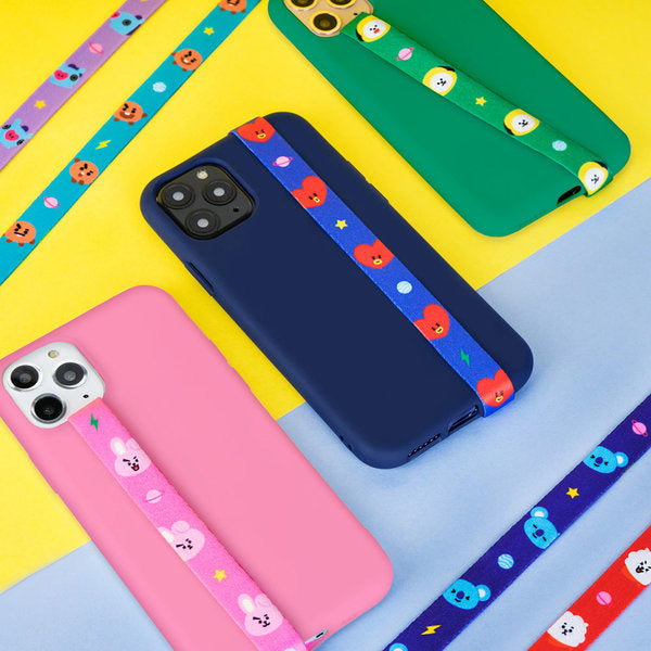[BT21] BT21 Character Strap String Finger iPhone Galaxy / Tata