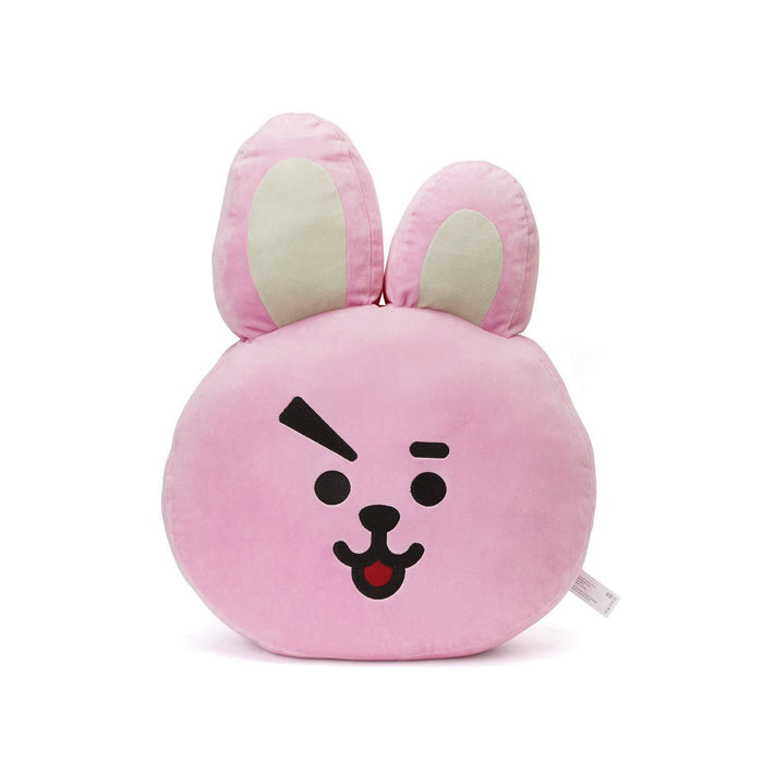 BT21 Official Merchandise by Line Friends - Cooky Smile Decorative Throw Pillows Cushion, 11 Inch