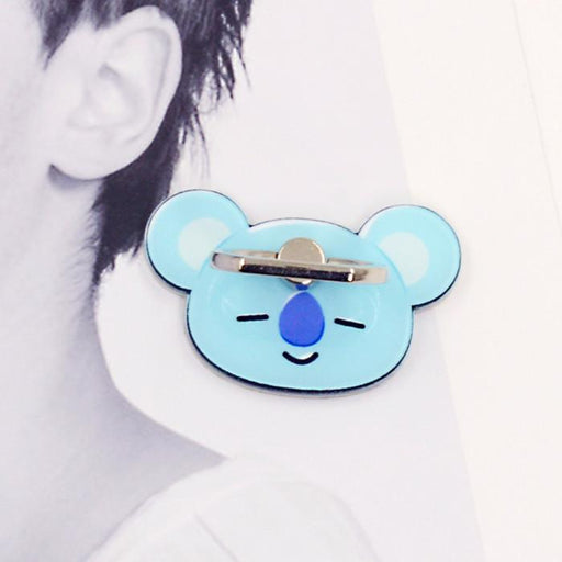 BT21 Official Merchandise by Line Friends - Koya Cell Phone Stand Ring Holder