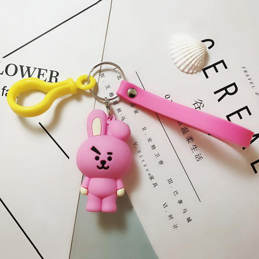 BT21 Official Merchandise  -Cooky Keychain Ring
