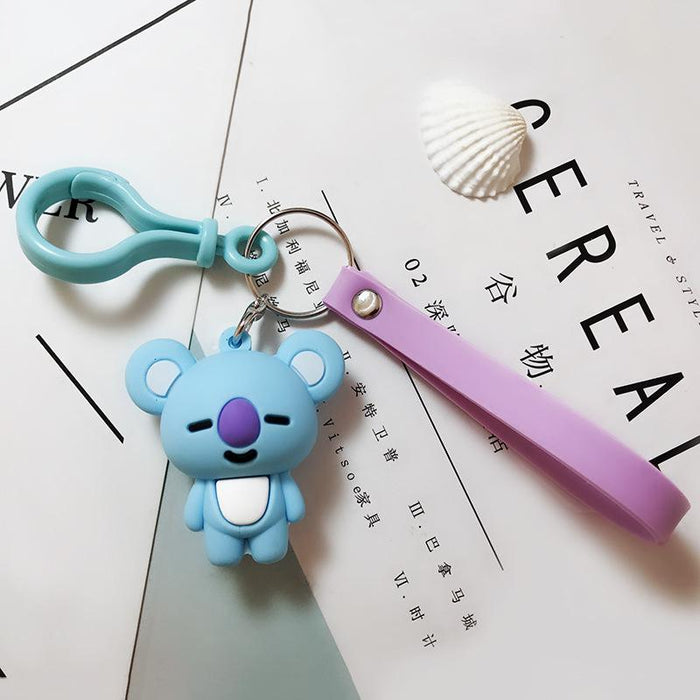BT21 Official Merchandise  -Koya Keychain Ring