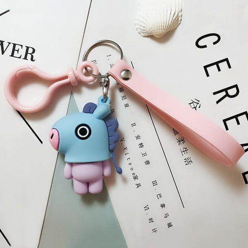 BT21 Official Merchandise  -Mang Keychain Ring