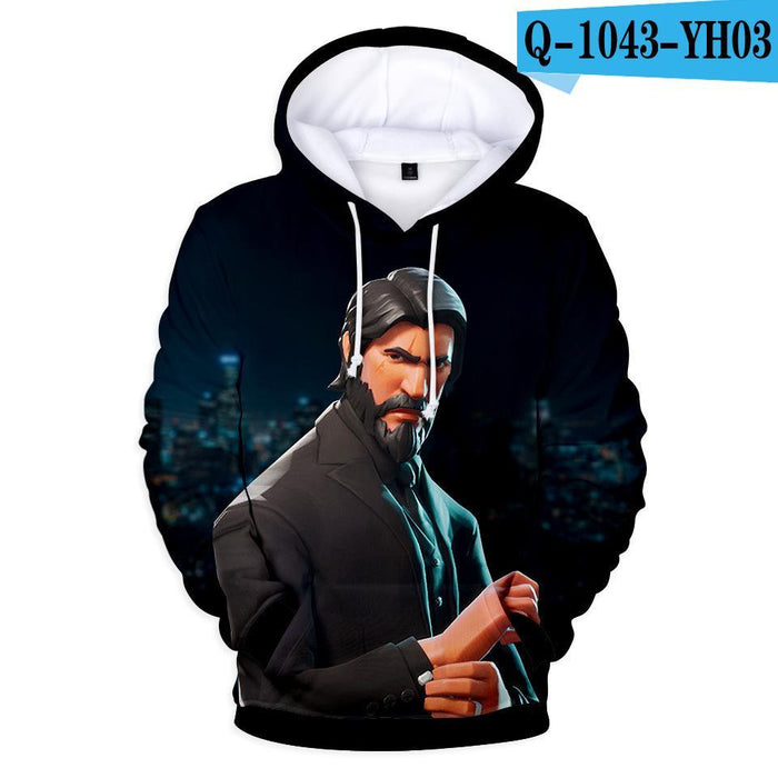 Fortnite Galaxy Oversized Printed Hoodie