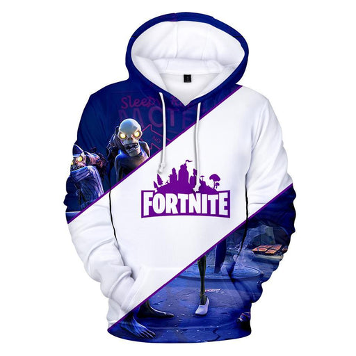 I'm Cool Guy Loving Game Fortnite Galaxy Printed Hoodie