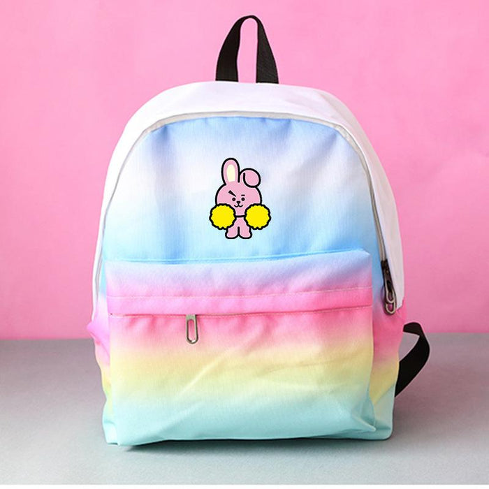 BTS Rainbow Pink Bag