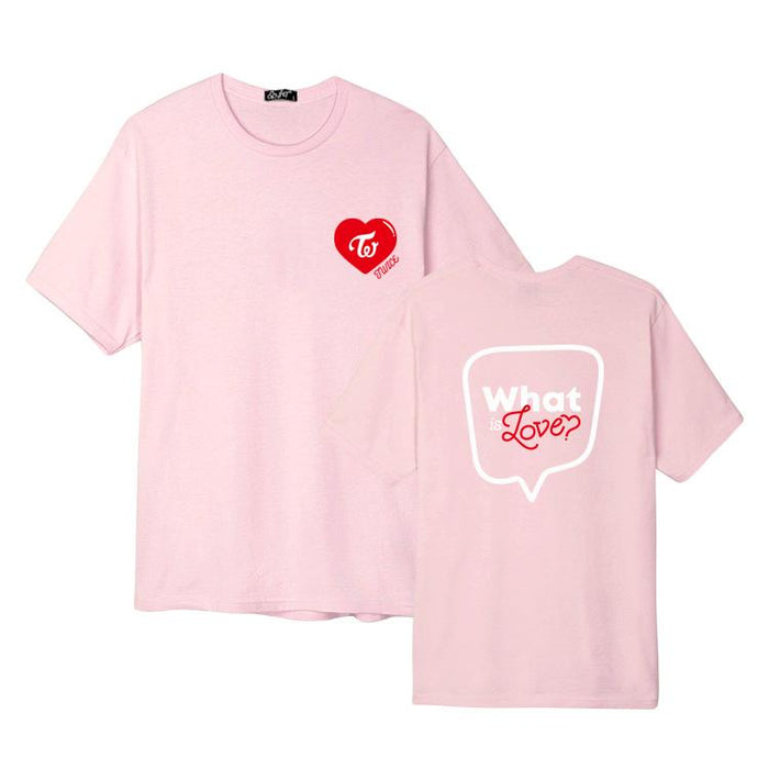TWICE WHAT IS LOVE T-SHIRT