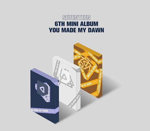 SEVENTEEN 6TH MINI ALBUM - YOU MADE MY DAWN
