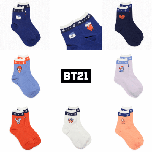 WINTER BT21 WOMEN'S SOCKS