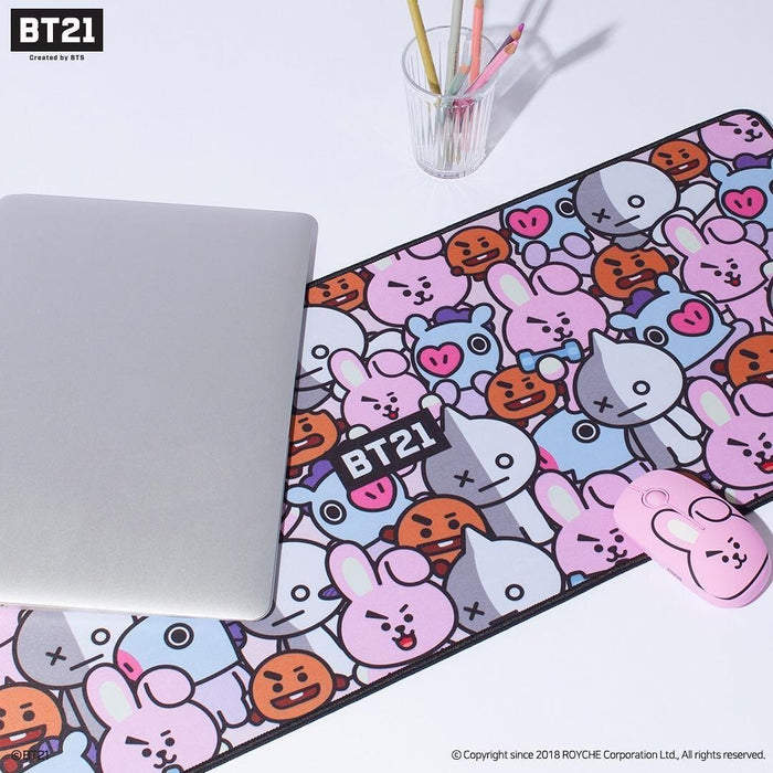 BT21 X ROYCHE LARGE MOUSE PAD/MAT