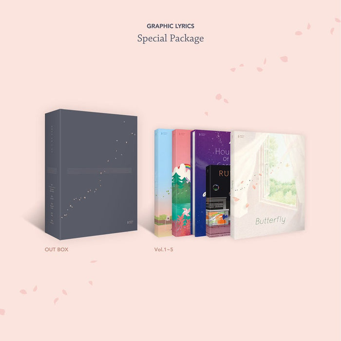 BTS GRAPHIC LYRICS SERIES (SPECIAL PACKAGE)