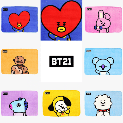 BT21 X HOMEPLUS FLANNEL BLANKET