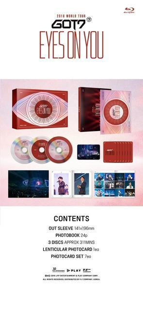 GOT7 - 2018 WORLD TOUR [EYES ON YOU] BLU-RAY