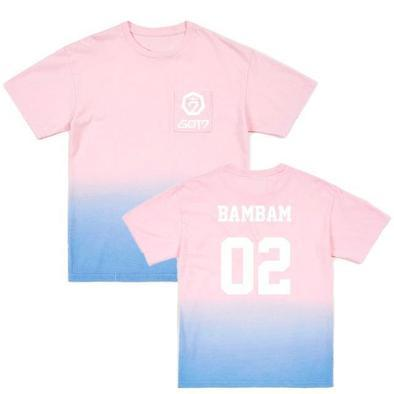 "GOT7 PINK BLUE GRADIENT"" T-SHIRTS"
