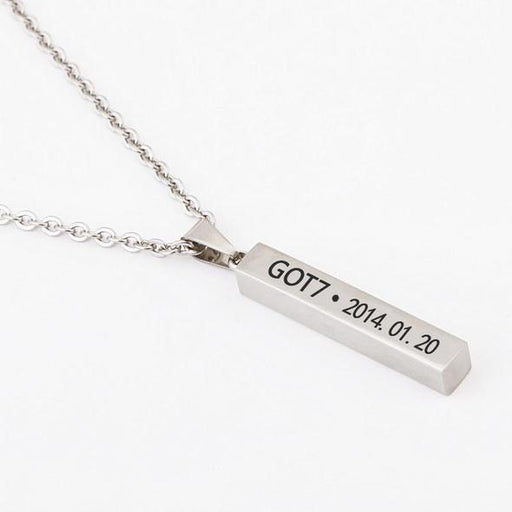 "GOT7 TITANIUM"" NECKLACE"