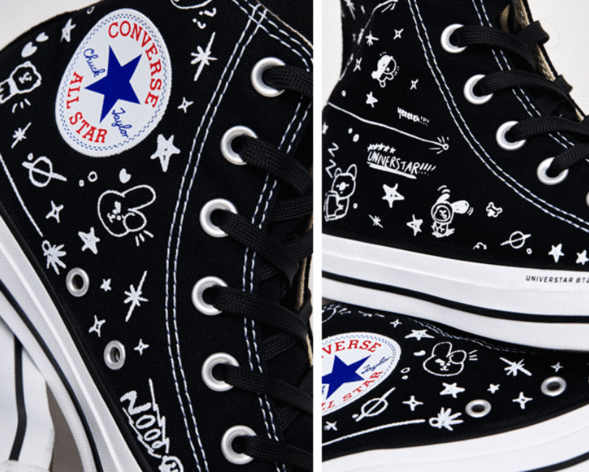 [LIMITED COLLABORATION] CONVERSE X BT21 CHUCK TAYLOR ALL STAR HIGH OFFICIAL