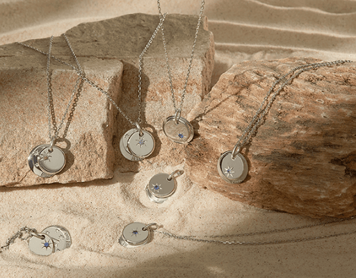 BTS X STONEHENGE MOMENT OF LIGHT BIRTH NECKLACE