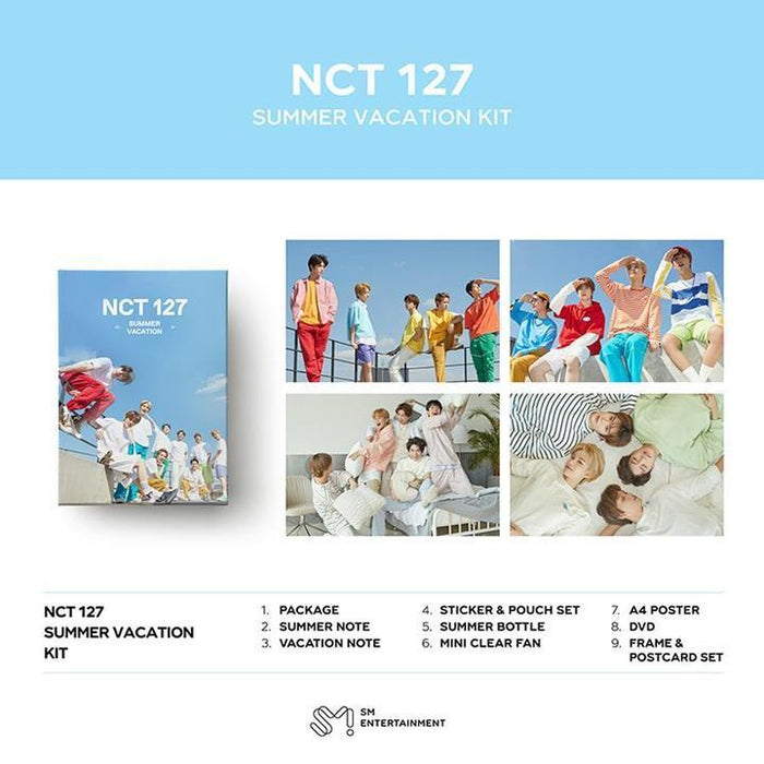 [PRE-ORDER] NCT #127 - 2019 NCT DREAM SUMMER VACATION KIT
