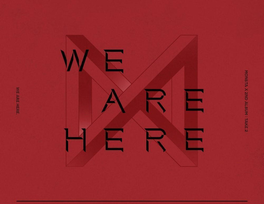 MONSTA X 2ND ALBUM TAKE.2 WE ARE HERE