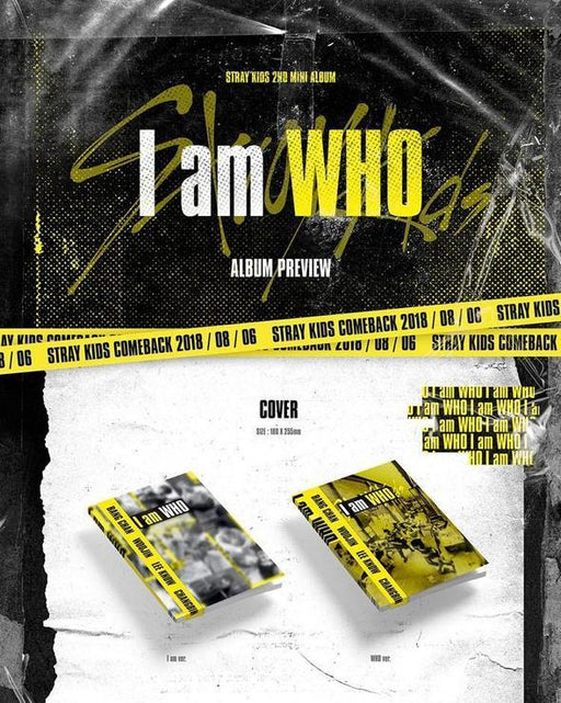 STRAY KIDS - 2ND MINI ALBUM - I AM WHO
