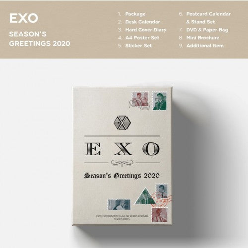 [EXO] - 2020 SEASON'S GREETINGS