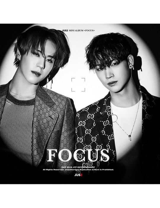 [RANDOM COVER] JUS2 1ST MINI ALBUM - FOCUS CD
