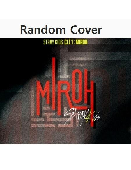 [RANDOM COVER] STRAY KIDS 4TH MINI ALBUM - CLE 1 : MIROH CD