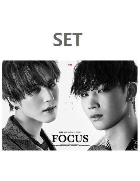 [SET] JUS2 1ST MINI ALBUM - FOCUS CD